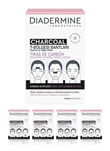 Diadermine Diadermine Kömürlü Tbölgesi Bantları 6'Lı 5 Adet Renksiz